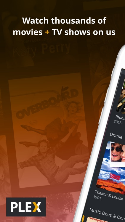 Plex: Movies, TV, Music + more screenshot-0