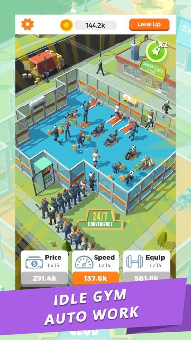 Idle Gym - Fitness Simulation screenshot 2