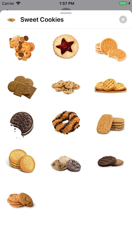 Sweet Cookies Sticker Pack