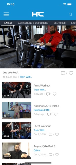 997f72ca Hypertrophy Coach on the App Store