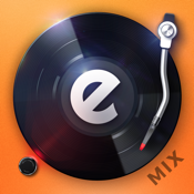 edjing 5: DJ turntable to mix and record music icon