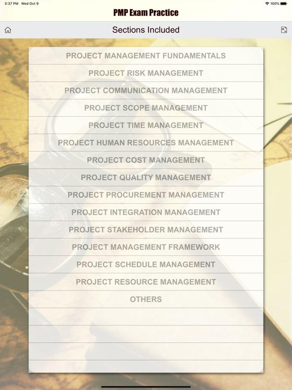 PMP Revision Aid screenshot 17