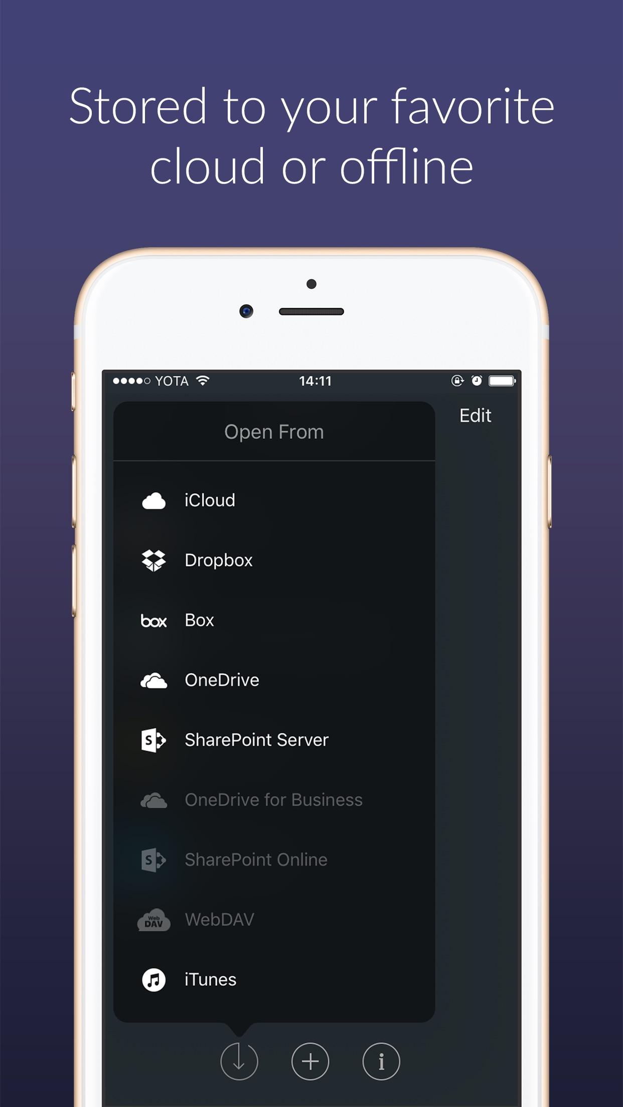 Screenshot do app Outline -your digital notebook