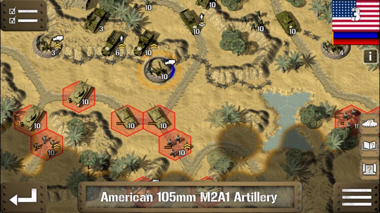 Tank Battle: North Africa screenshot-4