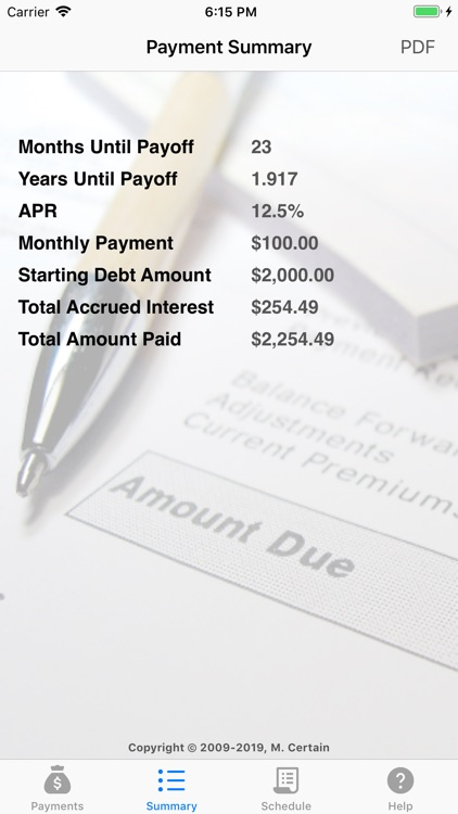 iCredit Calculator screenshot-3