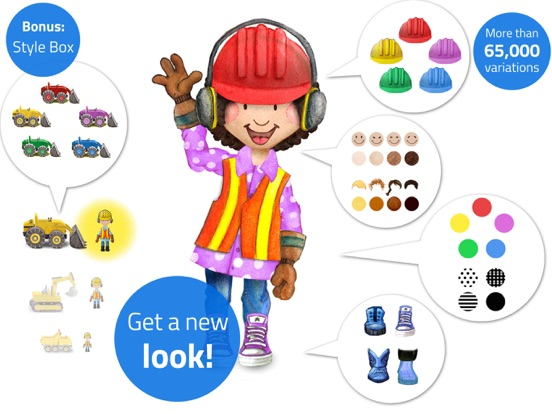 Tiny Builders - App for Kids Screenshots