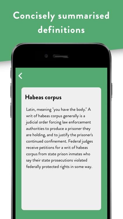 Pocket Law Guide: Criminal screenshot-5
