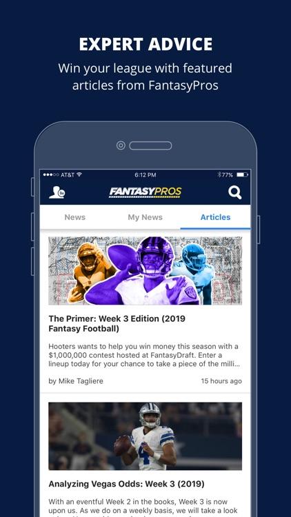 Fantasy News by FantasyPros screenshot-3