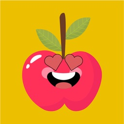 applemoji funny face sticker