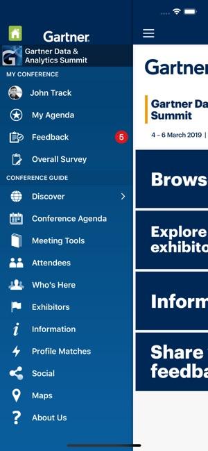 Gartner Conference Navigator on the App Store