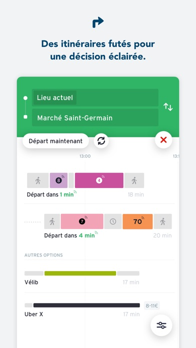 Screenshot for Transit • Horaires Bus & Metro in Lebanon App Store
