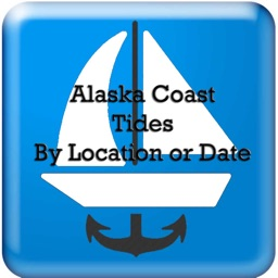 AlaskaTides Hi-Lw Date and GPS