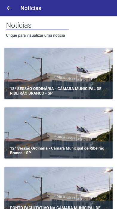 Câmara de Ribeirão Branco screenshot 3