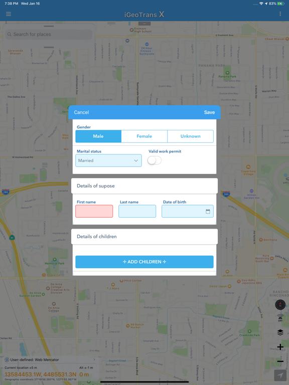 iGeoTrans Lite screenshot