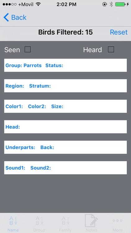 Panama Birds Field Guide Basic screenshot-3