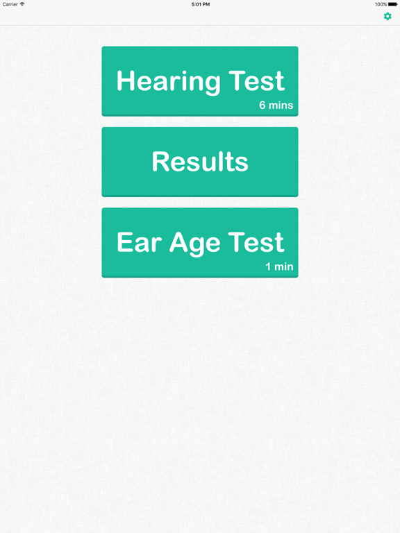 Hearing Test & Ear Age Test screenshot