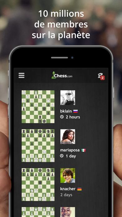 Screenshot #2 pour Échecs - Jouer et apprendre