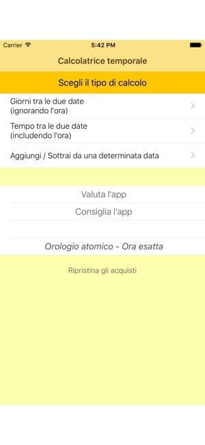premium selection d6fc0 518e6 Calcolatrice temporale su App Store
