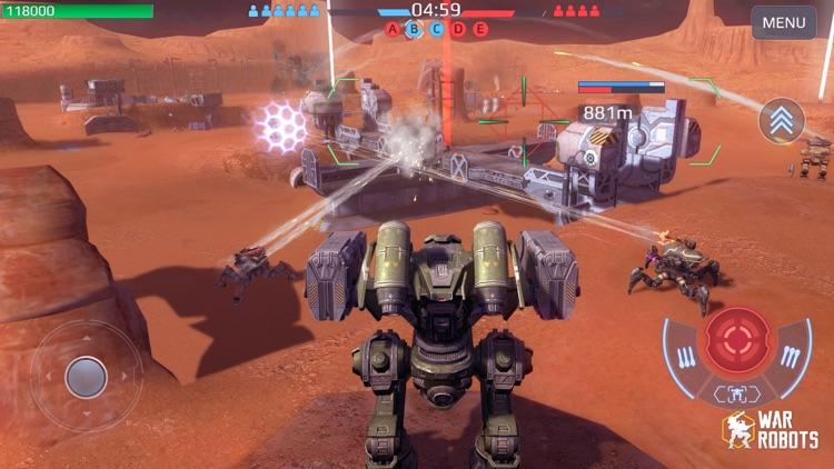 War Robots Multiplayer Battles screenshot-4