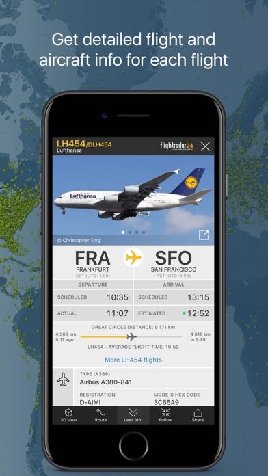 Flightradar24 review screenshots