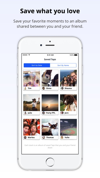 Tapstack: Moment Sharing