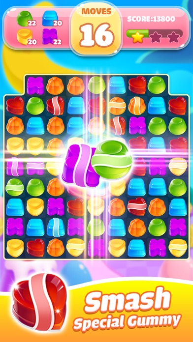 Jelly Jam Crush - Match 3 Game screenshot two