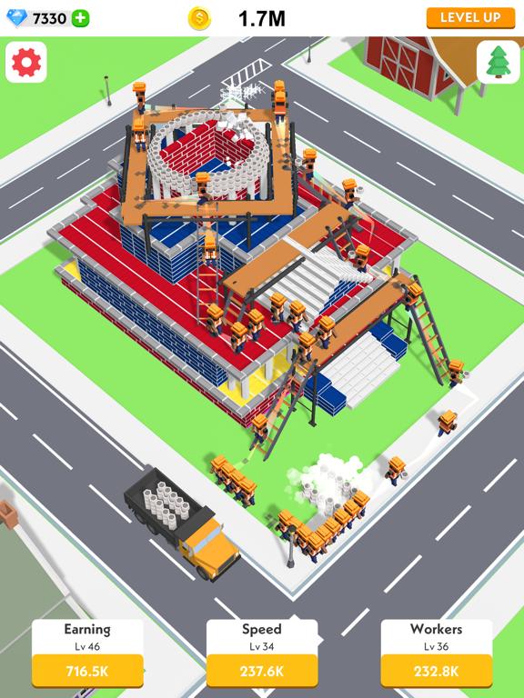 iPad Image of Idle Construction 3D