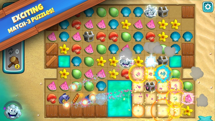 Animal Cove: Match 3 Adventure screenshot-0