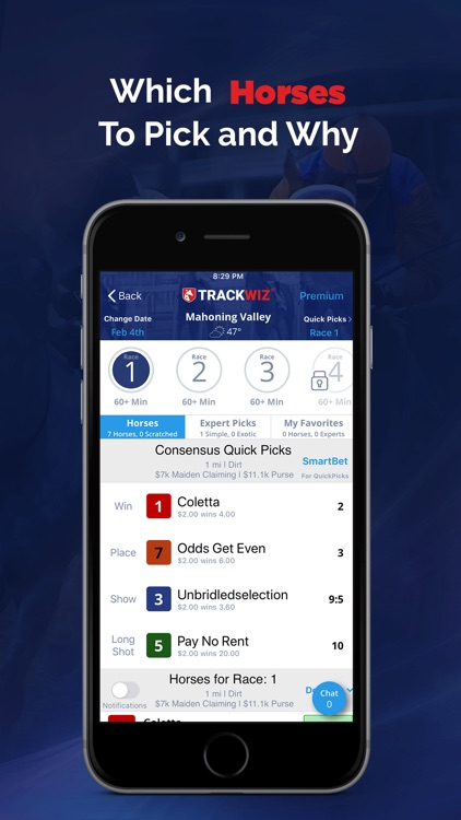 Horse Racing Betting TrackWiz screenshot-3