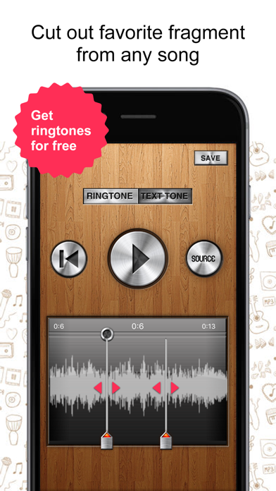 Ringtone Garage  - create your own ringtones screenshot
