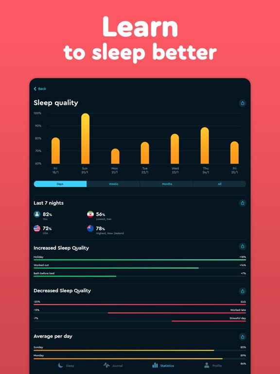 Sleep Cycle: smart alarm clock Screenshots