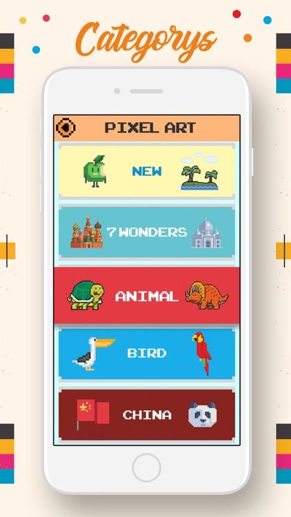 Pixel Grid Color by Number screenshot-3