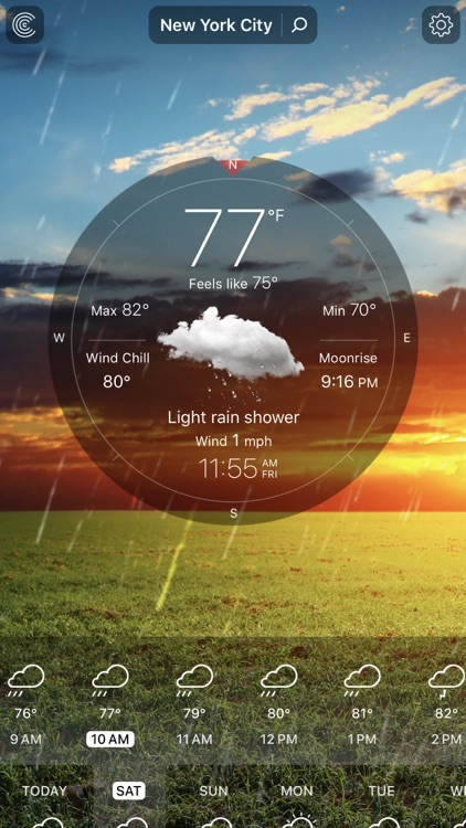 Weather Live° screenshot-0