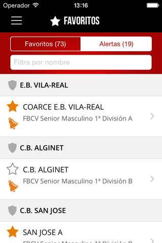 FBCV - App Oficial - náhled