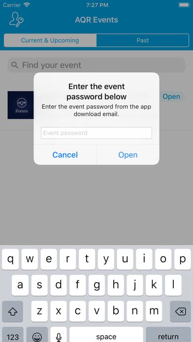 点击获取AQR Events