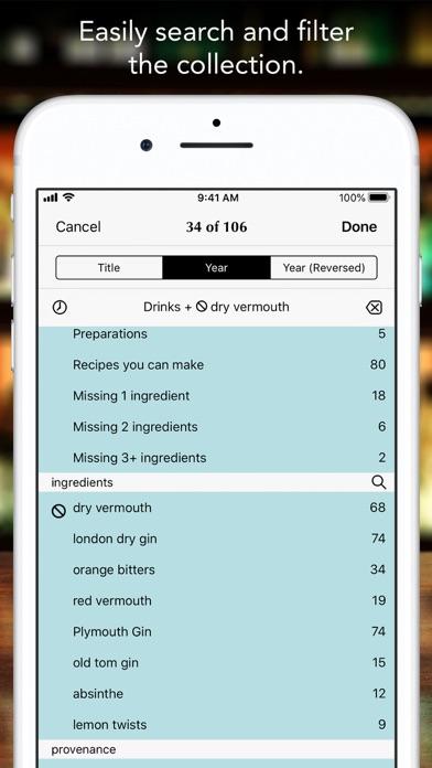 The Martini Cocktail Screenshot