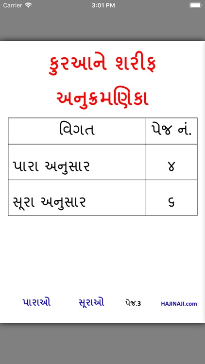 Gujarati Quran Shareef by Sarafaraz Babi