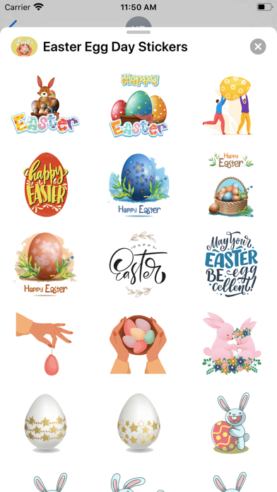 Easter Egg Day Stickers screenshot 2