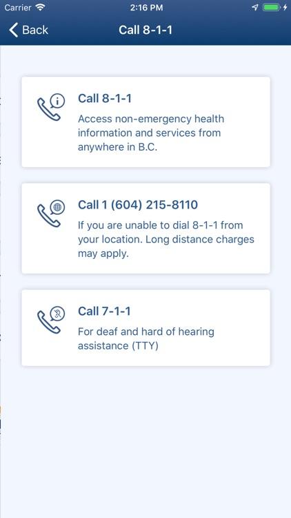 BC Health Service Locator screenshot-5