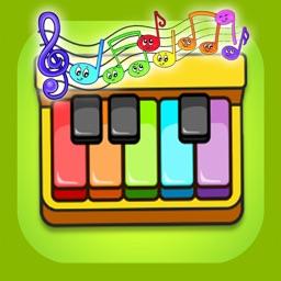音乐游戏 :儿童模拟钢琴架子鼓游戏