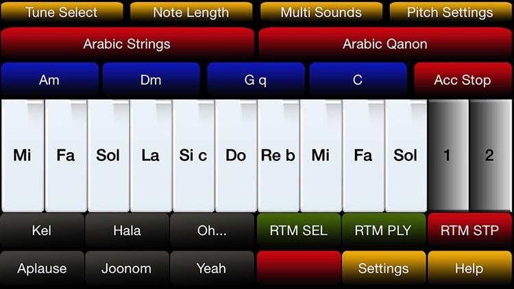 Arabic Instrument Pro screenshot-0