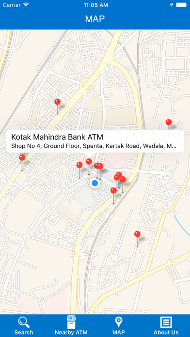 Nearest ATM Locator screenshot four
