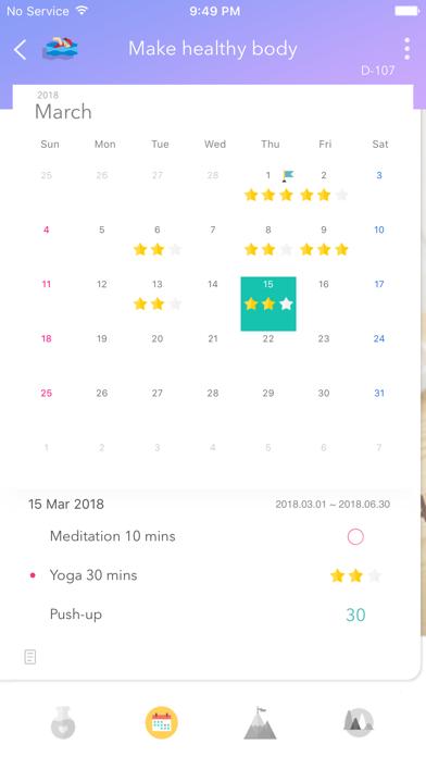 Weple Diary Pro - Goal, Habit Screenshots