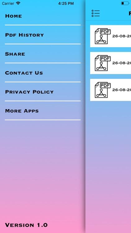 Image to pdf Maker screenshot-3