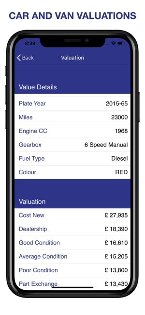 bf3922fe86  MOT Car Check and Valuation on the App Store
