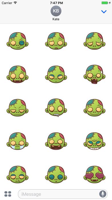 Sticker Me Zombie Boy 2