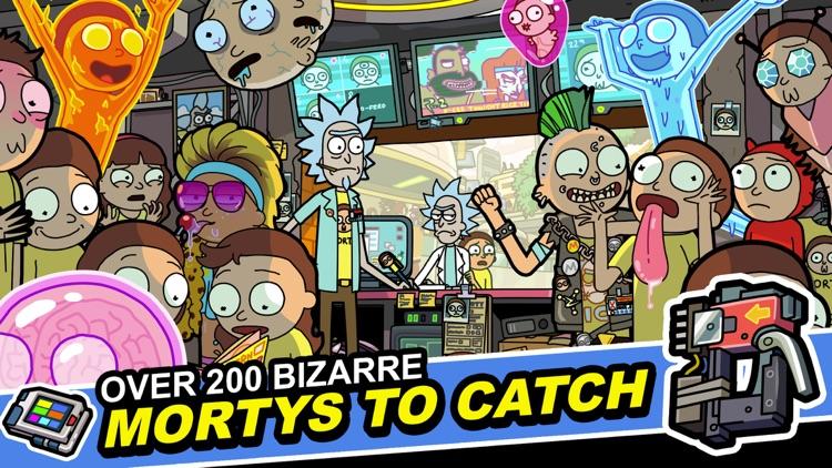 Rick and Morty: Pocket Mortys screenshot-4