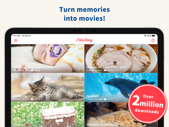 FilmStory - For All Your Video Editing Needs screenshot