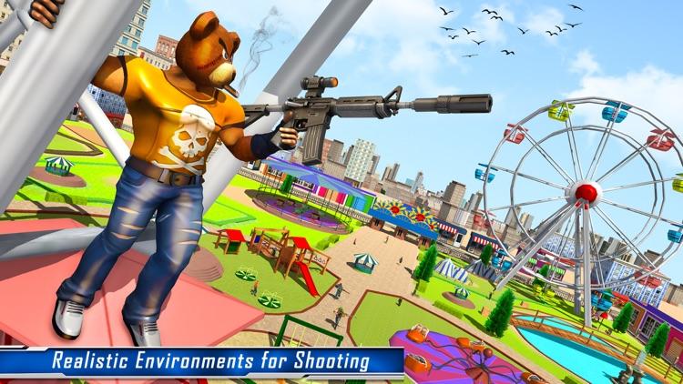 Teddy Bear Gun Shooting Game screenshot-5