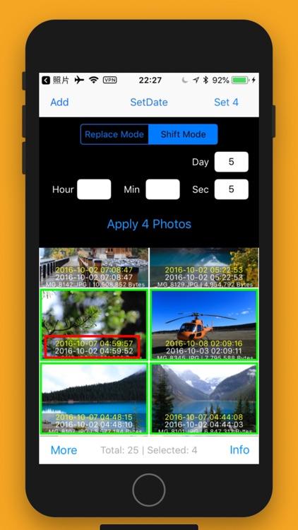 Batch Photo Redate screenshot-4